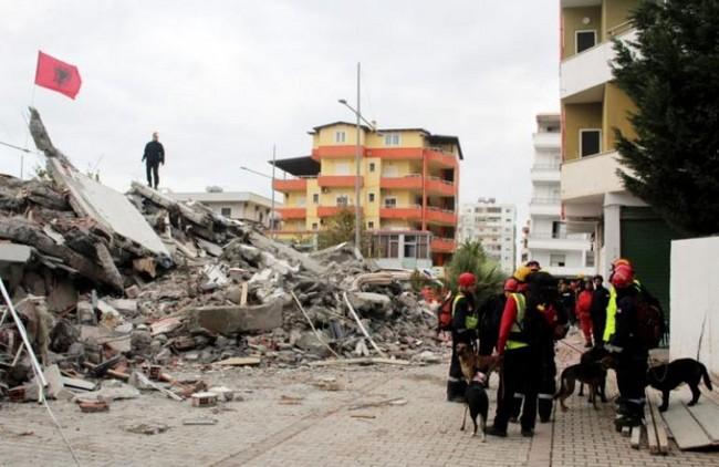 Schade in Durres