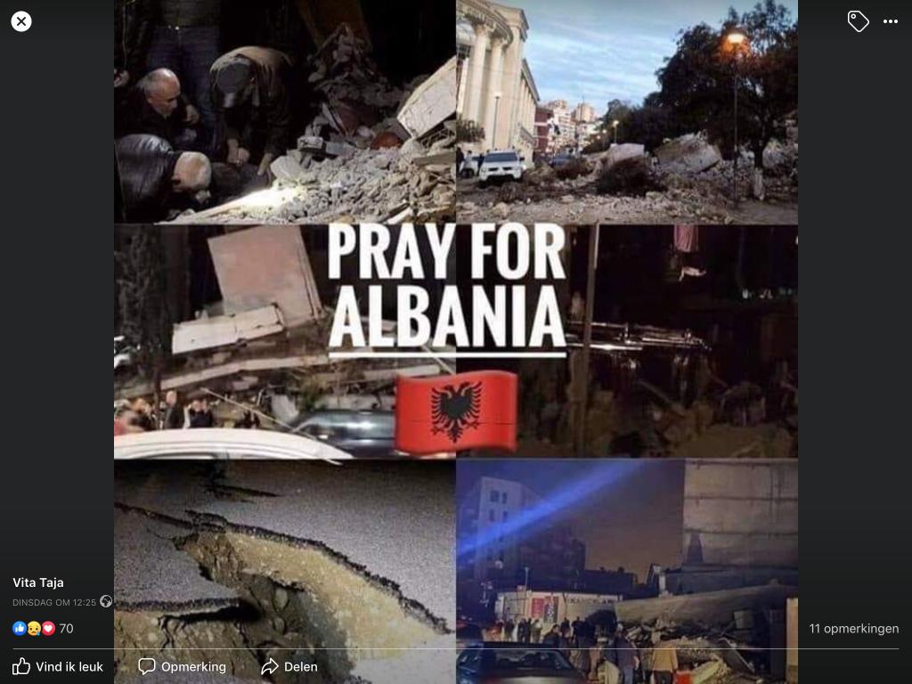 Bidt voor Albanië